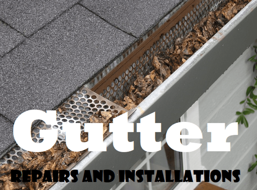 Gutter Repairs & Installation