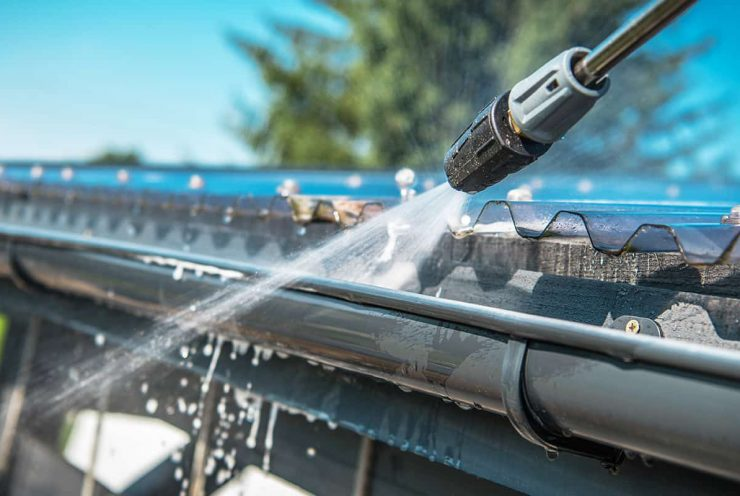 Gutter Cleaning and Repairs in Egham